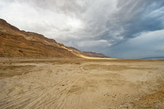 Dead Sea Shore Stock Image