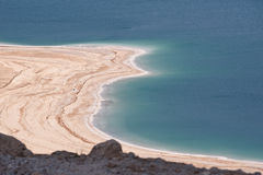 Dead Sea Shoreline Stock Photos