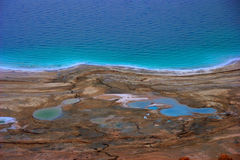 Dead Sea Shoreline Stock Photo