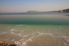 Dead Sea shortly after sunrise Royalty Free Stock Images