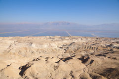 Dead Sea and Sodom Hills Stock Image