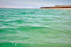 Dead sea surface. Royalty Free Stock Images