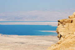 Dead Sea view. Royalty Free Stock Images