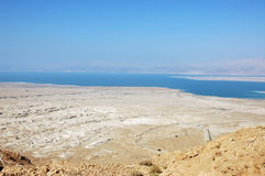 Dead Sea view. Royalty Free Stock Photo