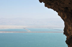 Dead Sea view. Stock Photos