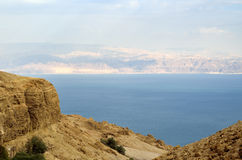 Dead Sea view. Royalty Free Stock Image