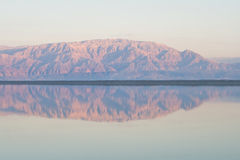 Dead Sea view. View to mountains and sea in Dead Sea, Jordan Stock Photo