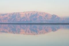 Dead Sea view stock photo