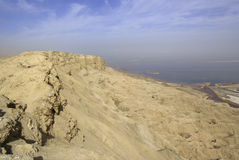 Dead Sea View From Mt. Sodom Royalty Free Stock Images