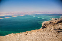 Dead sea view Royalty Free Stock Photography