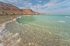 Dead Sea View. View on the Dead Sea on a sunny day stock images