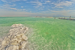 Dead Sea View Stock Photography