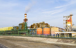 The Dead Sea Works is an Israeli potash plant in Sdom . Royalty Free Stock Photography
