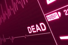 Dead Signal Stock Images