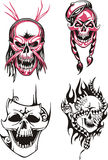 Dead skulls Royalty Free Stock Photos
