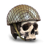 Dead soldier. Stock Photography