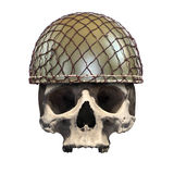 Dead soldier. Royalty Free Stock Photo