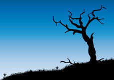 Dead tree stock illustration