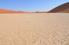 Dead Vlei in Namib desert, Namibia Royalty Free Stock Photos