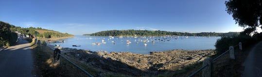 Deadend piękna punkt w Devon zdjęcia stock