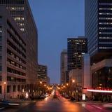 Deaderick ulica w Nashville Obrazy Stock