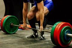 deadlift αθλητής powerlifter στοκ εικόνες με δικαίωμα ελεύθερης χρήσης