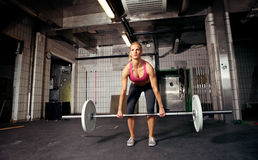 Deadlift Lizenzfreies Stockfoto