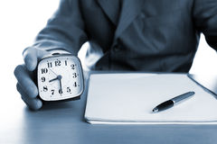 Deadline. Business concept of a time to deadline Stock Photo
