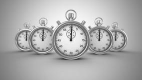 Deadline Animation stock video