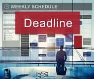 Deadline Appointment Final Time The End Countdown Urgency Concep Stock Image