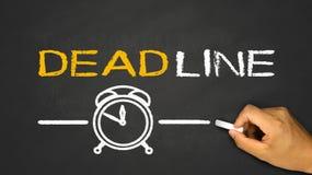 Deadline concept Stock Photography