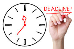 Deadline Stock Photography