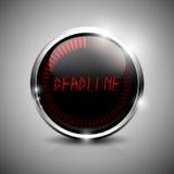 Deadline electronic symbol Stock Photography