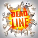 Deadline Event Concept Stock Image