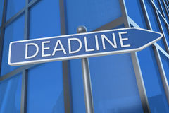 Deadline Royalty Free Stock Images