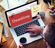 Deadline Note Calendar Planner Concept vector illustration
