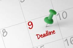 Deadline Reminder Stock Photos