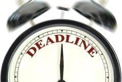 Deadline Royalty Free Stock Photos