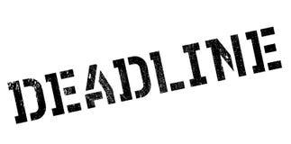 Deadline stamp rubber grunge Royalty Free Stock Image