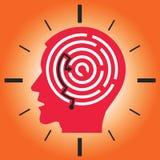 Deadline stress concept vector illustration