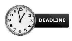 Deadline Ticking Stock Photography