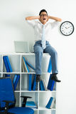 Deadline time Royalty Free Stock Image