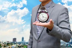 Deadline time concept stock photography