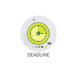 Deadline Time Management Business Timing Clock Icon Royalty Free Stock Photo