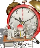 Deadline royalty free illustration