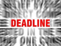 deadline ilustracji
