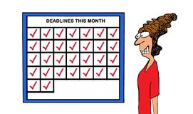 Deadlines Stock Photos
