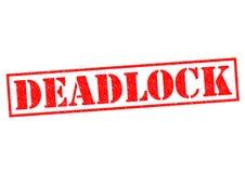 deadlock ilustração royalty free