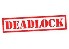 deadlock ilustração do vetor