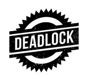 Deadlock rubber stamp Stock Image